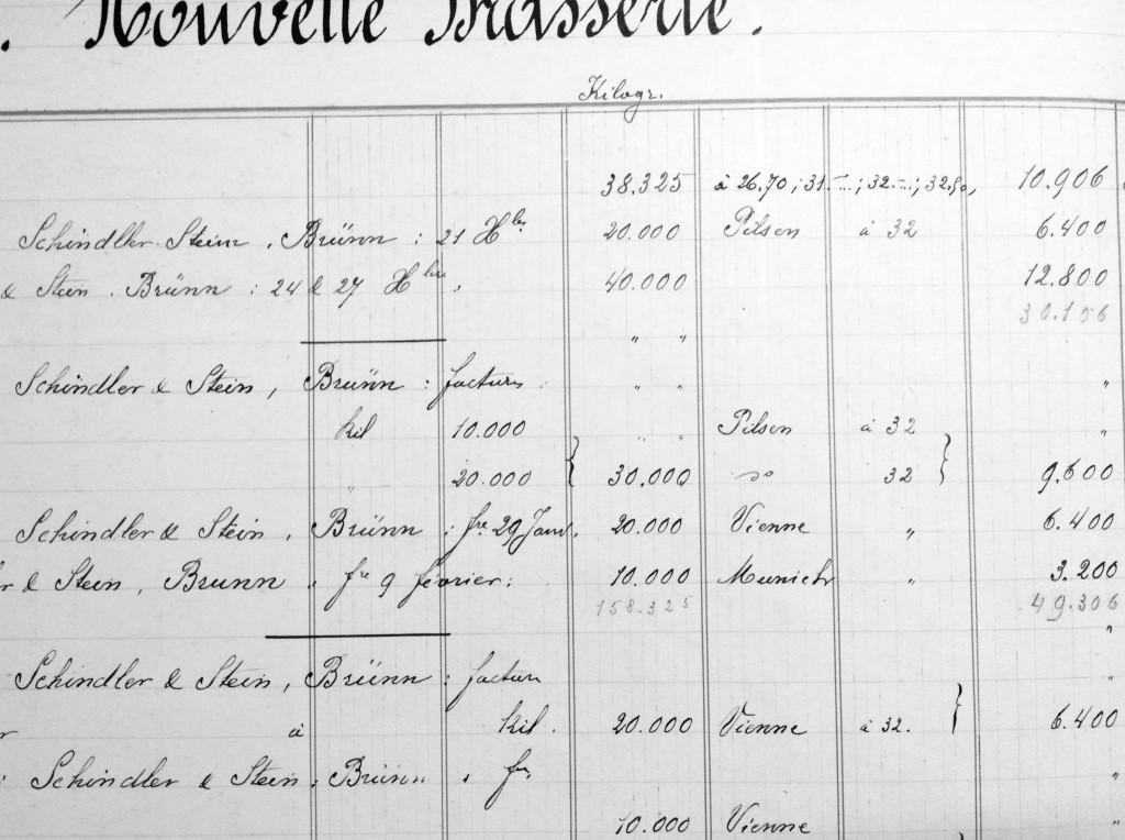 1895 Artois Orders of Czech Malt